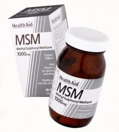 Health Aid MSM with Vitamin C 90 tabletes