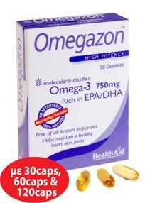 Health Aid Omegazon OMEGA-3 750MG 30 caps