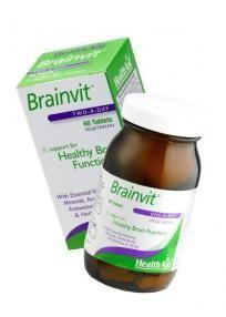 Health Aid Brainvit 60 tabletes