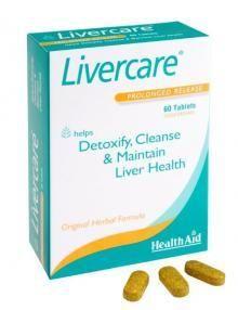 Health Aid Livercare 60 tabletes