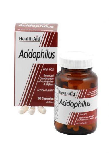 Health Aid Acidophilus (+bifidus) 60caps