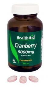 Health Aid Cranbery 5000mg 60 tablets