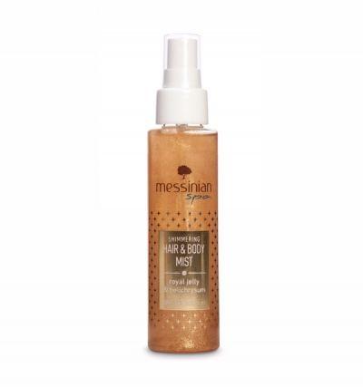 Messinian Spa Hair & Body Mist - Βασιλικός Πολτός & Ελίχρυσος 100ml