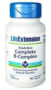 Life Extension BioActive Complete  B-Complex 60caps