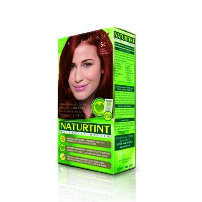 Naturtint Φυτική βαφή μαλλιών - 5C Καστανό χαλκοχρουν ανοιχτό 1 Τεμ