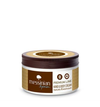 Messinian Spa Premium Line Hand & Body Cream Με Βασιλικό Πολτό και ελίχρυσο 250ml