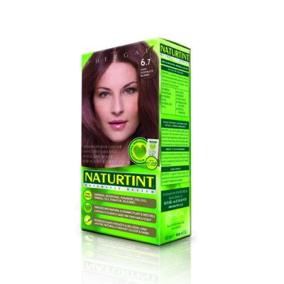 Naturtint Φυτική βαφή μαλλιών - 6.7 Σκούρο ξανθό σοκολά 1 Τεμ