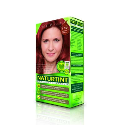 Naturtint Φυτική βαφή μαλλιών - 7.46 Έντονο χαλκοκόκκινο 1 Τεμ