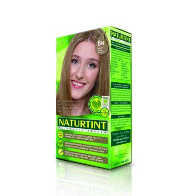 Naturtint Φυτική βαφή μαλλιών - 8Ν Ξανθό ανοιχτό 1 Τεμ