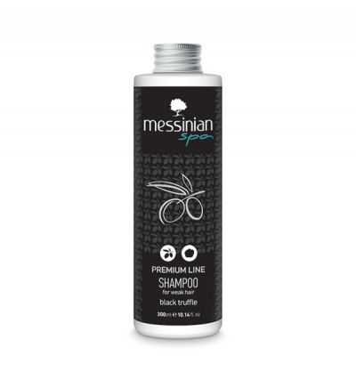 Messinian Spa Premium Line Shampoo Με Μαύρη Τρούφα 300ml