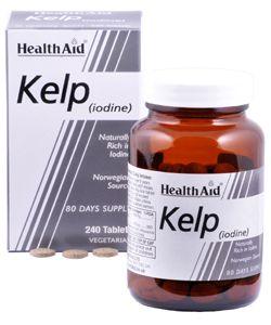 Health Aid Kelp lodine 240 ταμπλέτες
