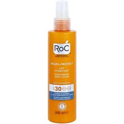 Roc Soleil-Protect SPF30 Ενυδατική Lotion Σώματος σε Spray 200ml