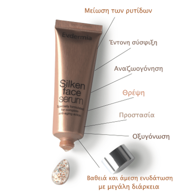 Evdermia Silken Face Serum 50ml