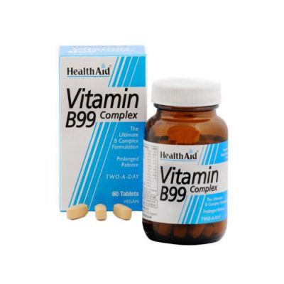 Health Aid Vitamin B99 Complex 60 tablets