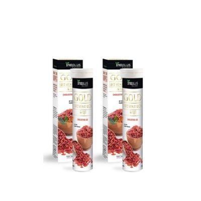 Inoplus Gold Red Yeast Rice & Q10 2x20 αναβράζοντα δισκία