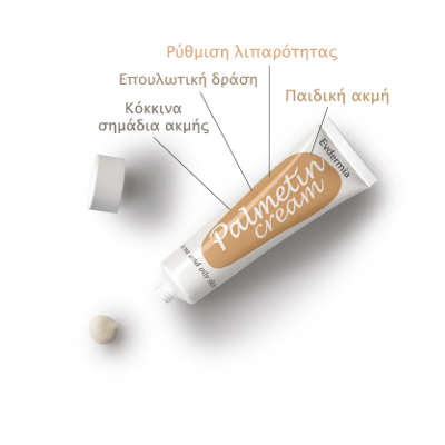 Evdermia Palmetin Cream 40ml