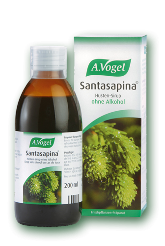 A.Vogel Santasapina Syrup Alcohol Free 200ml