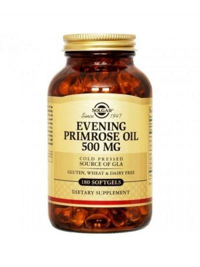 Solgar Evening Primrose Oil 500mg 180 Μαλακές Κάψουλες