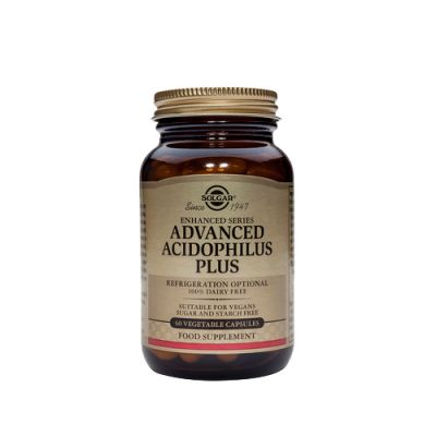 Solgar Advanced Acidophilus Plus 60 κάψουλες
