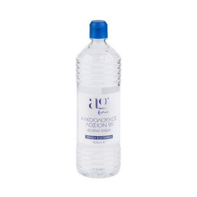 Ag Pharm Αλκοολούχος Λοσιόν 95° 400ml