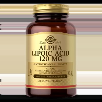 Solgar Alpha Lipoic Acid 120mg 60 Κάψουλες