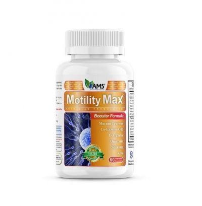 AMS Motility Max - Φόρμουλα για την Ανδρική Γονιμότητα 60 Κάψουλες