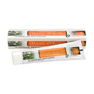 Anemos Οδοντόκρεμα Mastic & Herbs Με Μαστίχα & Μανταρίνι, Sensitive 75ml
