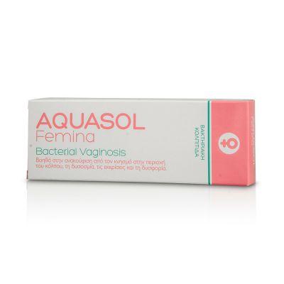 Aquasol Femina Bacterial Vaginosis Γέλη για την Αντιμετώπιση της Βακτηριακής Κολπίτιδας, 30ml
