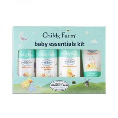 Childs Farm Κιτ Περιποίησης Μωρού σε travel size Συσκευασίες 4 τεμ