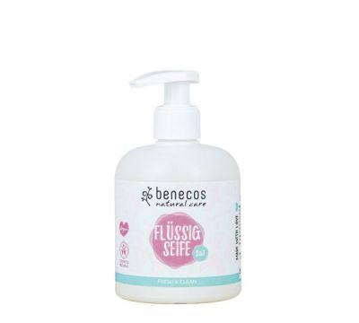 Benecos Φυσικό Υγρό Σαπούνι 3σε1 Fresh & Clean με Αλόη & Μελισσόχορτο 300ml