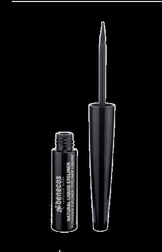 Benecos Υγρό Eyeliner Μαύρο 3ml