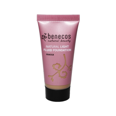 Benecos Απαλό Υγρό Fountation Mocca 30ml