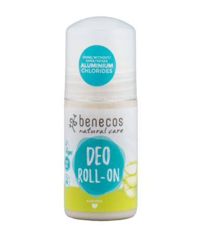 Benecos Αποσμητικό Roll-On Με Βιολογική Αλόη 50ml