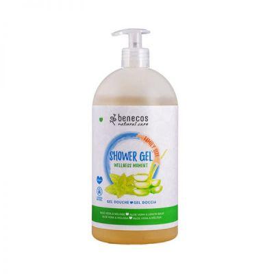 Benecos Φυσικό Αφρόλουτρο Wellness Moment με Αλόη & Μελισσόχορτο 950ml
