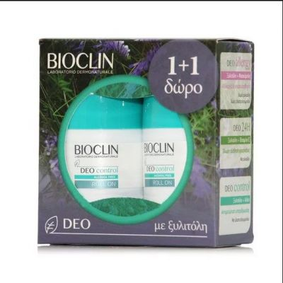 Bioclin Promo Deo Control Alcohol Free Roll-on Αποσμητικό 1+1 2x50ml