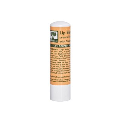 BioSelect Organics 100% Organic Lip Balm Για Τα Χείλη Μπισκότο 4,4g
