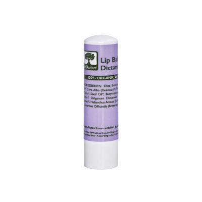 BioSelect Organics 100% Organic Lip Balm Για Τα Χείλη Dictamelia 4,4g