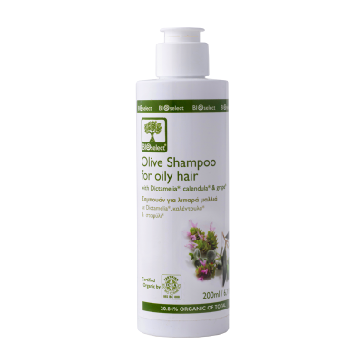 BioSelect Organics Σαμπουάν Για Λιπαρά Μαλλιά 200ml