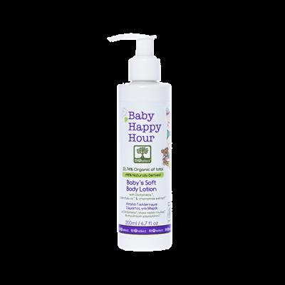 BioSelect Organics Baby Happy Hour Απαλό Γαλάκτωμα Σώματος Για Μωρά 200ml