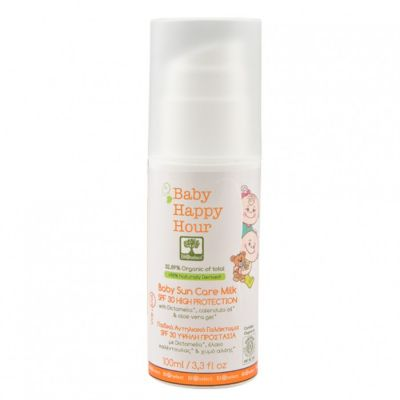 BioSelect Organics Baby Happy Hour Παιδικό Αντηλιακό Γαλάκτωμα SPF30 100ml