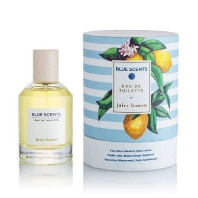 Blue Scents Eau De Toilette Juicy Lemon 100ml
