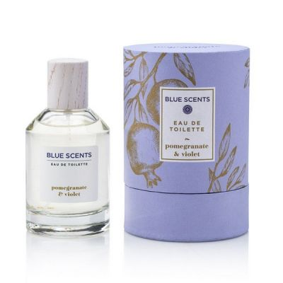 Blue Scents Eau De Toilette Pomegranate & Violet 100ml