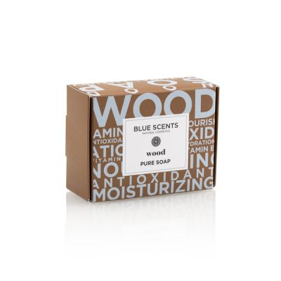 Blue Scents Σαπούνι Wood 135g