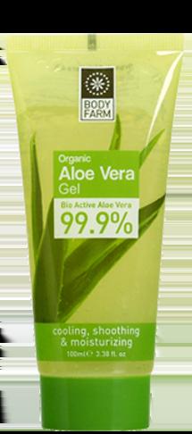 Bodyfarm Aloe Vera Gel 99.9% 100ml