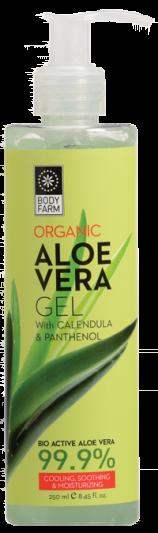 Bodyfarm Aloe Vera Gel 99.9% 250ml