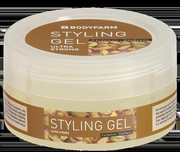 Bodyfarm Styling Gel Cardamon - Τζελ Μαλλιών Κάρδαμο 200ml