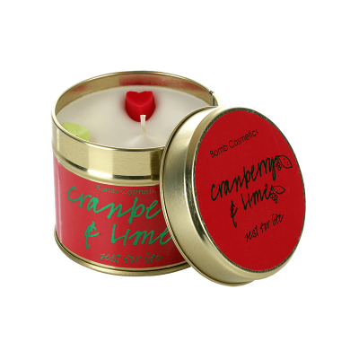 Bomb Cosmetics Cranberry&Lime Candle 1τμχ, 243g