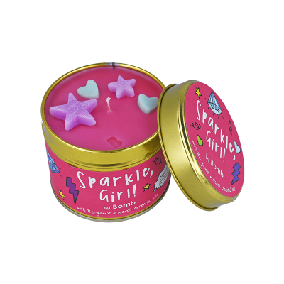 Bomb Cosmetics Sparkle Girl Candle 1τμχ, 243g