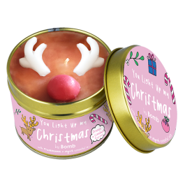 Bomb Cosmetics You Light Up My Christmas Candle 1τμχ, 243g