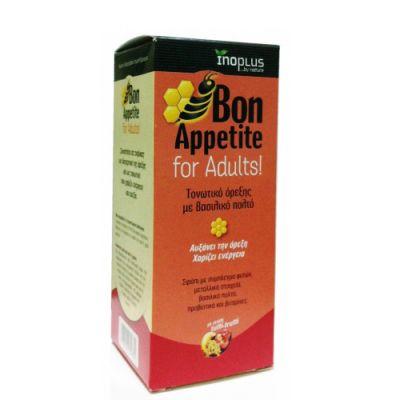 Inoplus Bon Appetit Adults Τονωτικό Όρεξης με βασιλικό πολτό 150ml